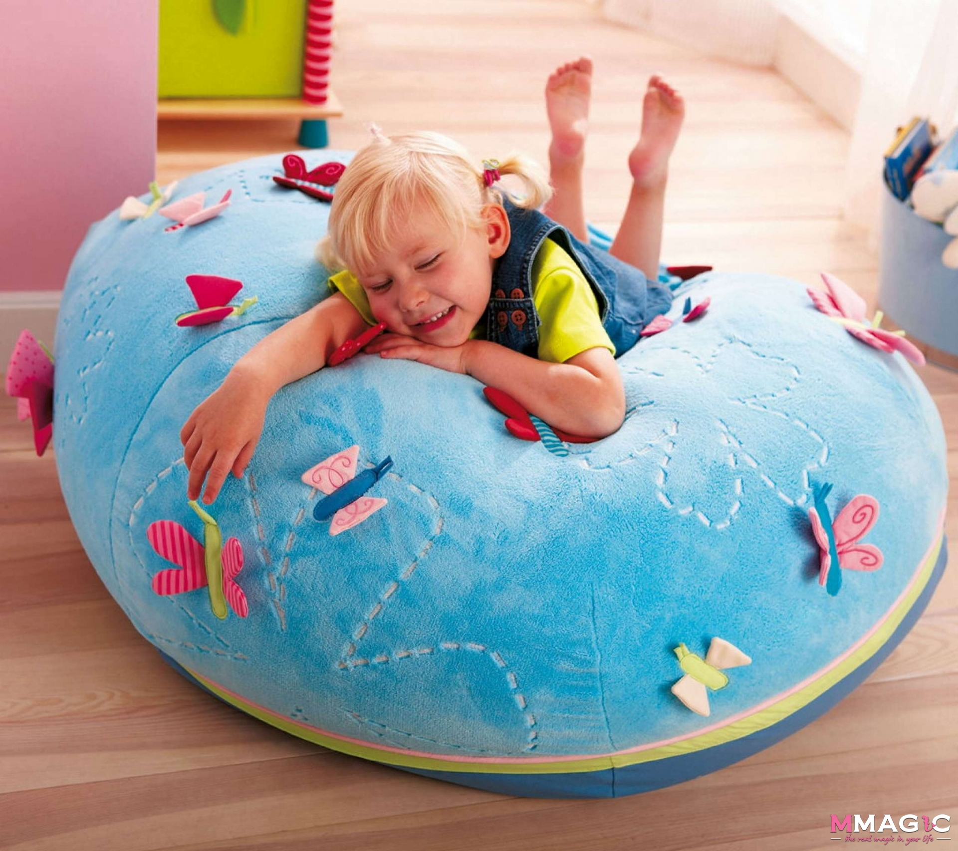 Haba Summer Butterfly Beanbag Chair